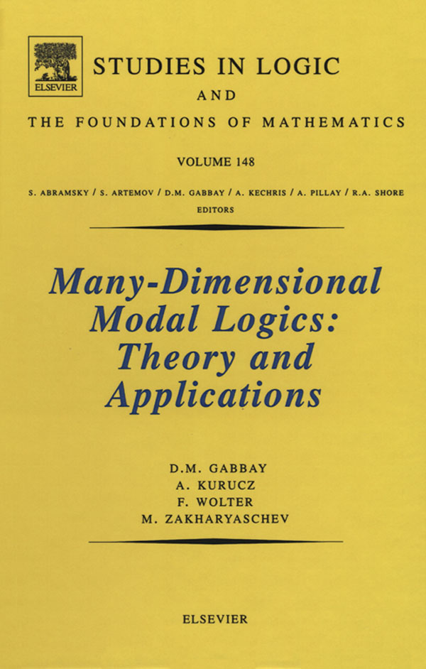 Many-Dimensional Modal Logics: Theory and Applications Theory and Applications