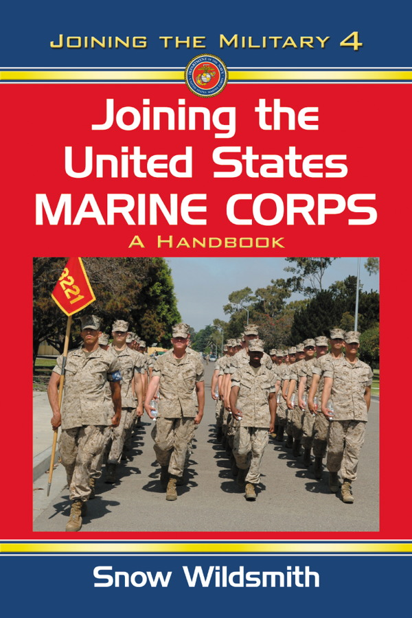 Joining the United States Marine Corps