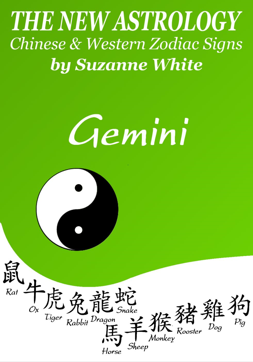 Suzanne White - Gemini - The New Astrology™ - Chinese & Western Zodiac Signs