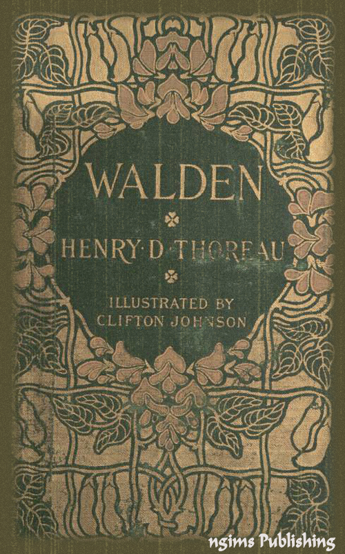 Walden (Illustrated + Audiobook Download Link + Active TOC)