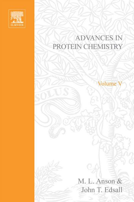 ADVANCES IN PROTEIN CHEMISTRY VOL 5 By: AUTHOR, UNKNOWN