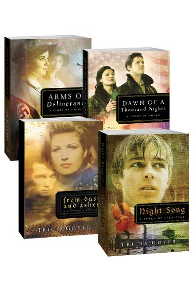 Tricia Goyer WWII Series: From Dust and Ashes, Night Song, Dawn of a Thousand  Nights, and Arms of Deliverance By: Tricia N Goyer