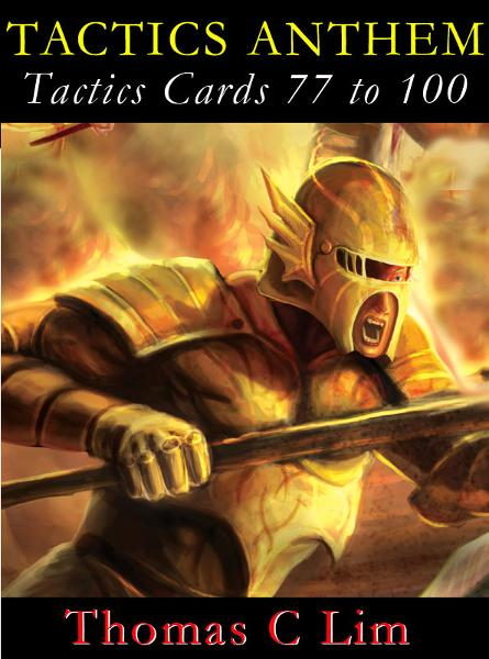 TACTICS ANTHEM: Tactics Cards 77 to 100