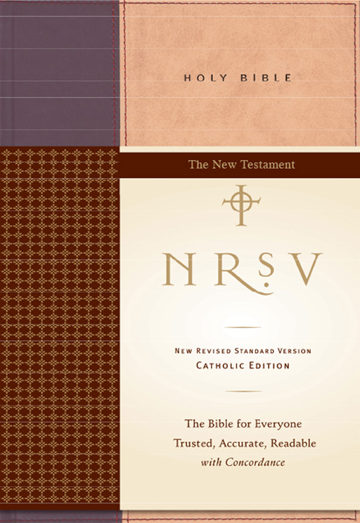 NRSV Catholic Edition Bible Anglicized--New Testament