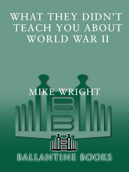 What They Didn't Teach You About World War II
