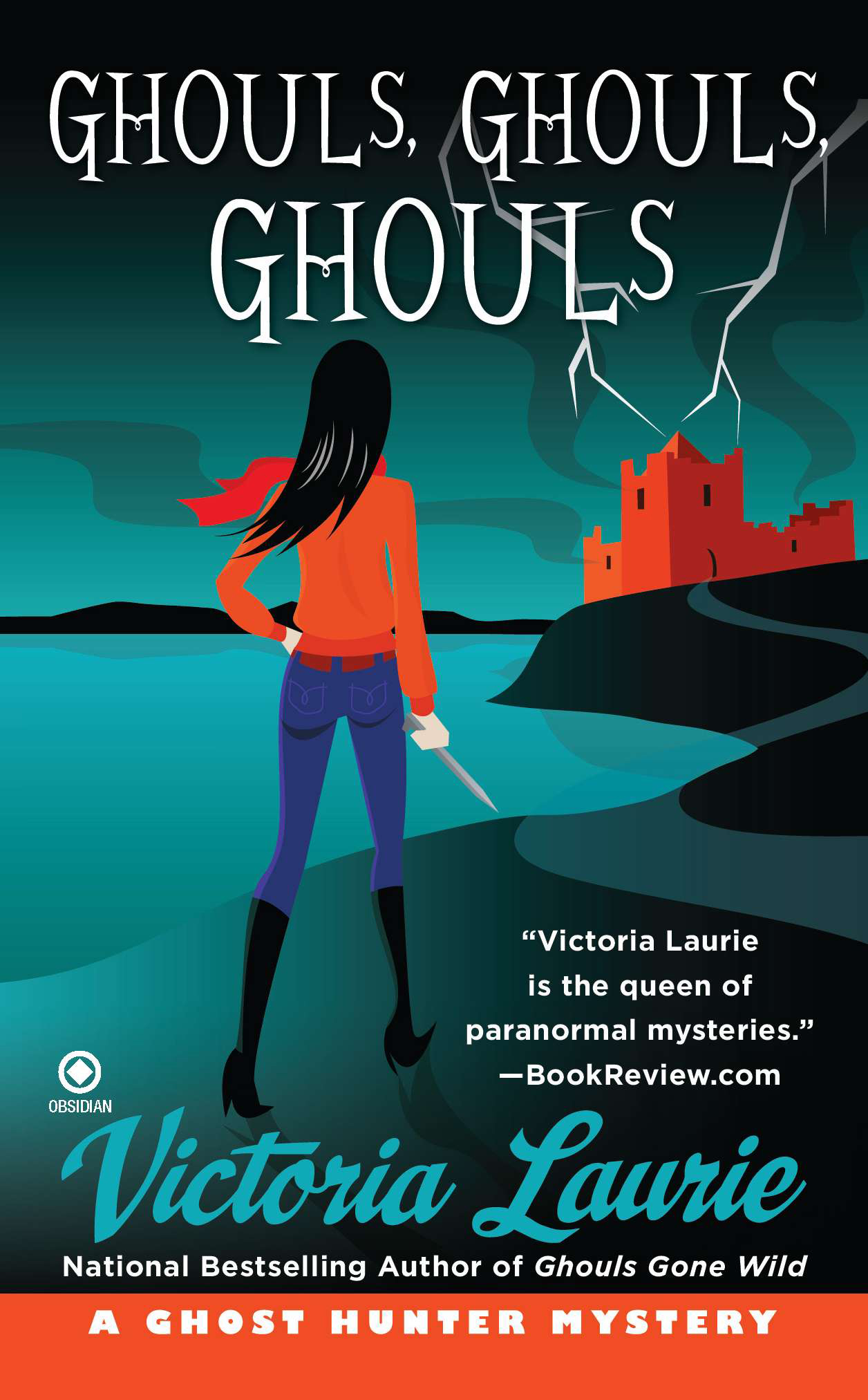 Ghouls, Ghouls, Ghouls: A Ghost Hunter Mystery By: Victoria Laurie