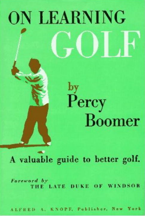 On Learning Golf By: Percy Boomer