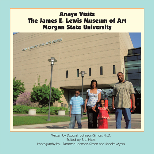 Anaya Visits the James E. Lewis Museum of Art at Morgan State University