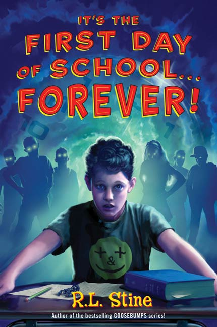 Cover Image: It's the First Day of School...Forever!