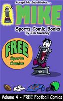 online magazine -  MIKE's FREE Sports Comic Book on Football
