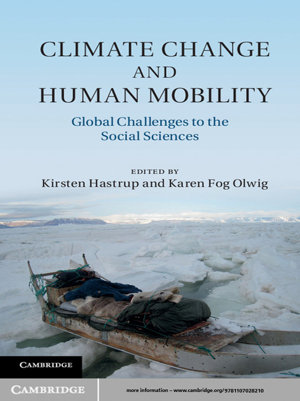 Climate Change and Human Mobility Challenges to the Social Sciences