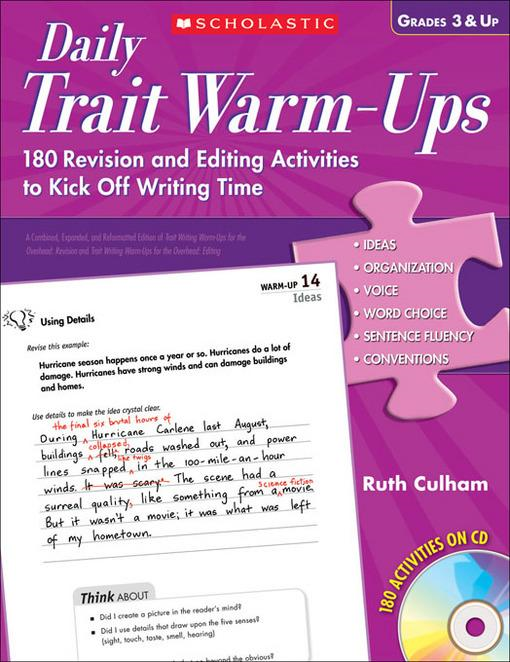 6 1 traits of writing primary grades