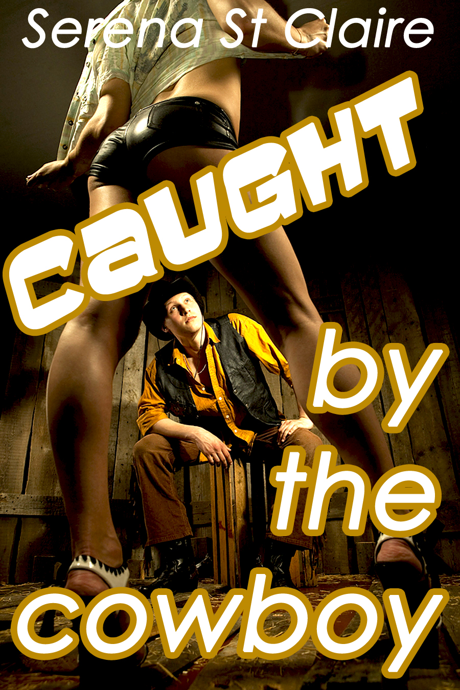 Caught by the Cowboy (Western Sexin' Cowboy Series)