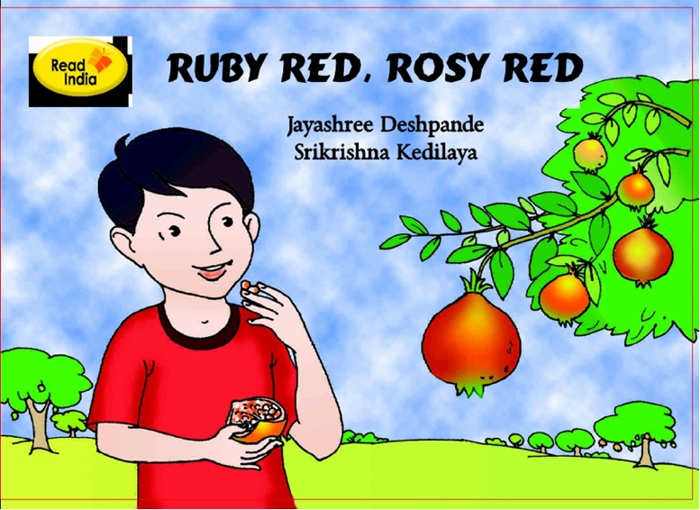 Roses Red, Ruby Red By: Jayashree Deshpande