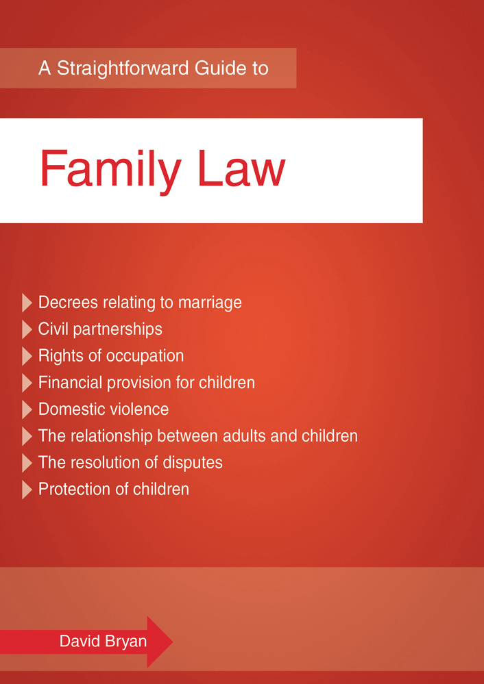 A Straightforward Guide to Family Law