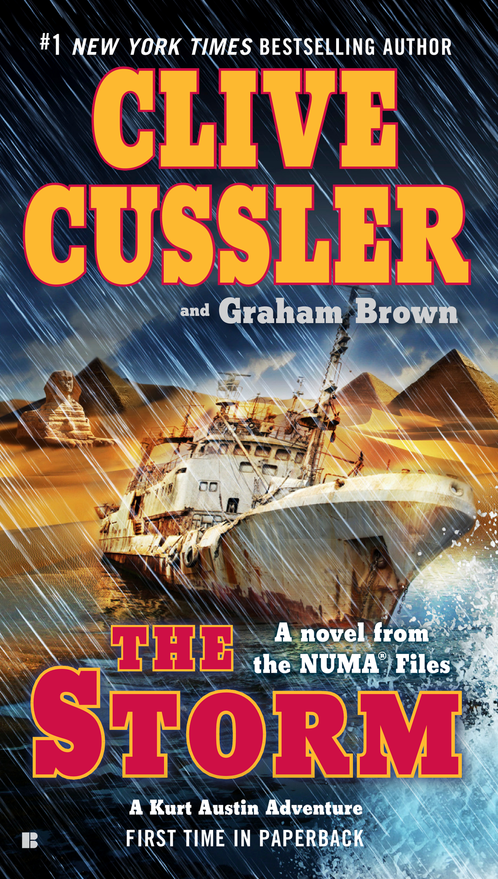 The Storm By: Clive Cussler,Graham Brown