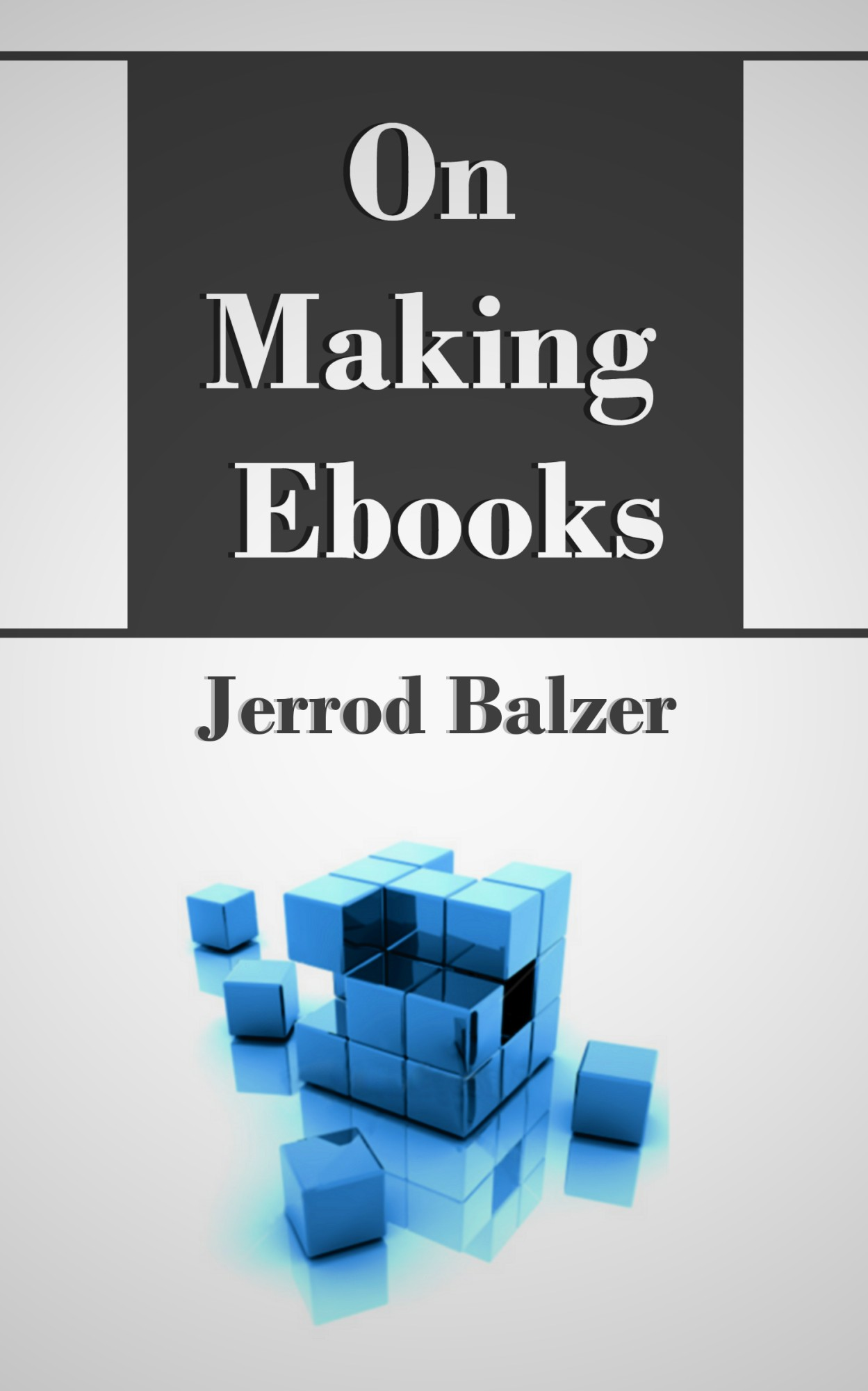 On Making Ebooks