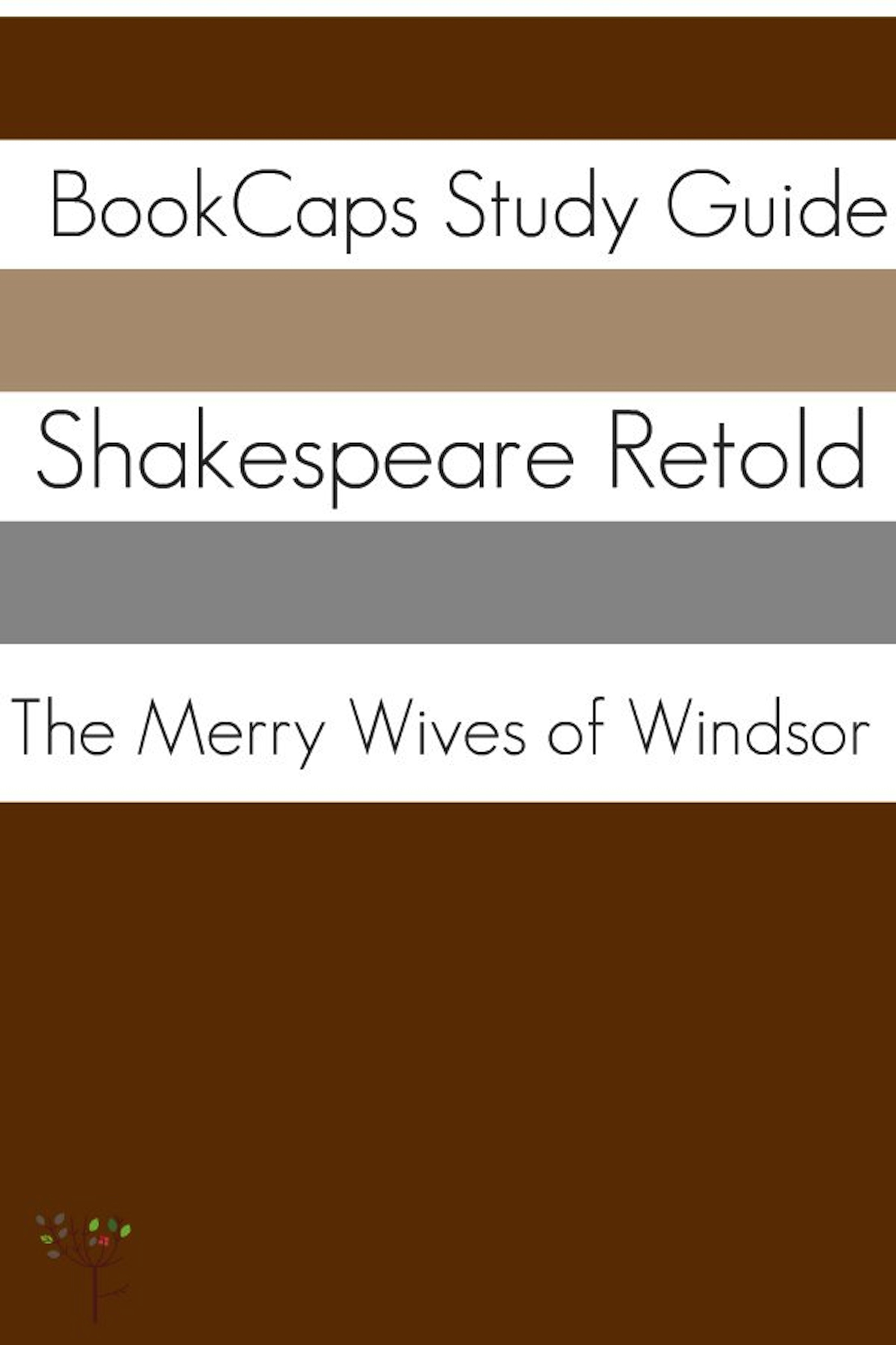 BookCaps - The Merry Wives of Windsor In Plain and Simple English (A Modern Translation and the Original Version)