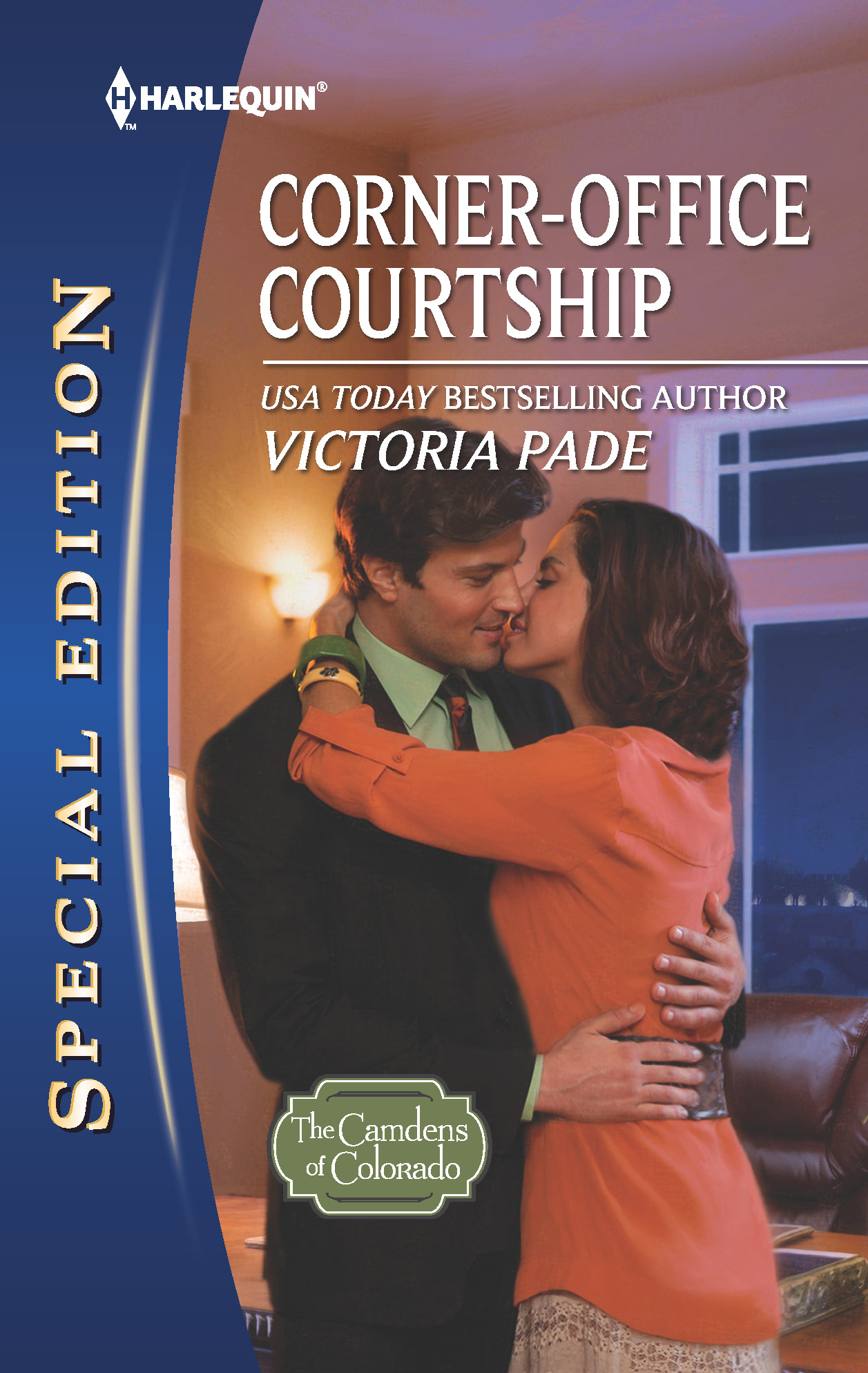 Corner-Office Courtship By: Victoria Pade
