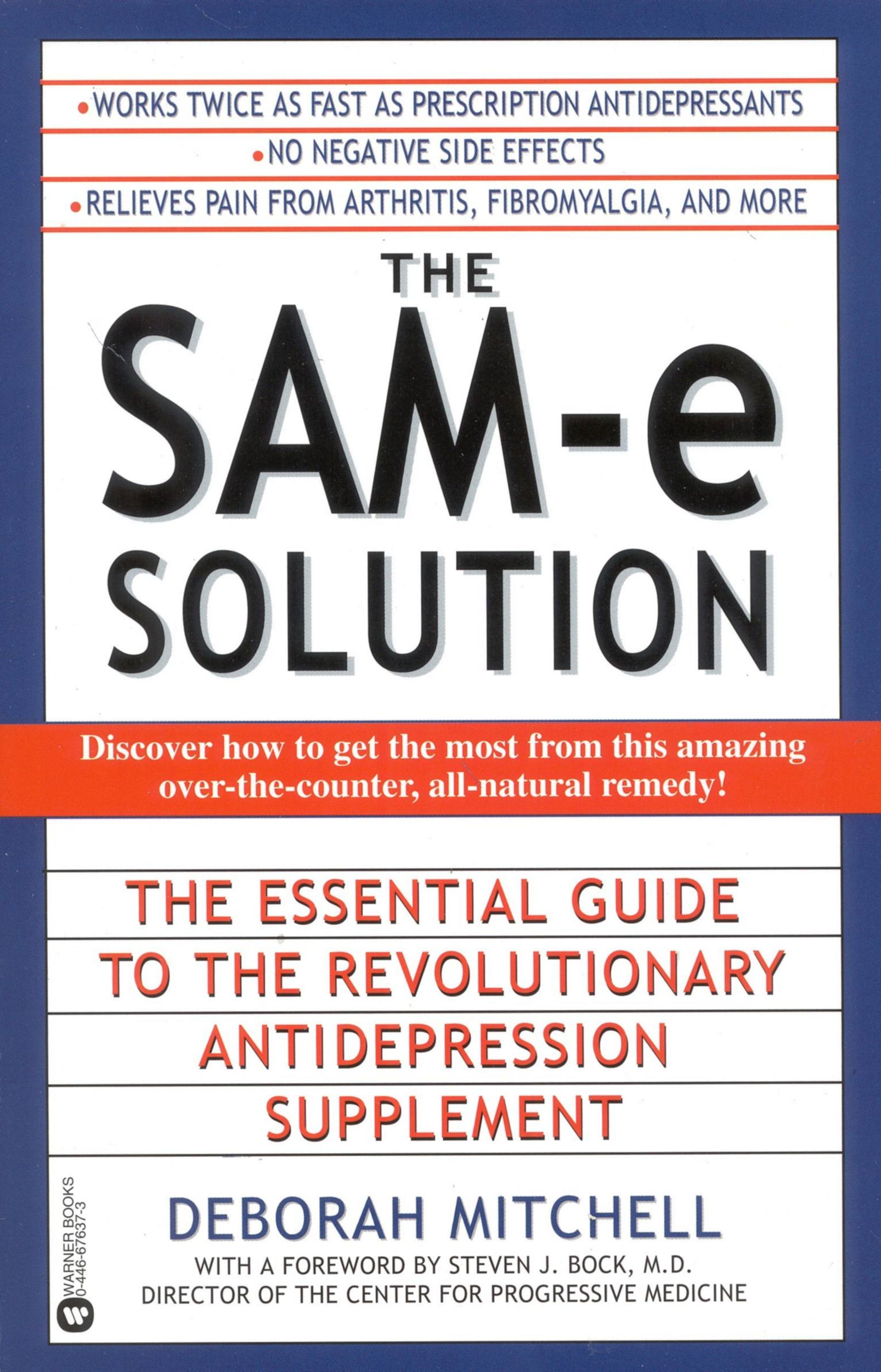 The SAM-e Solution By: Deborah Mitchell