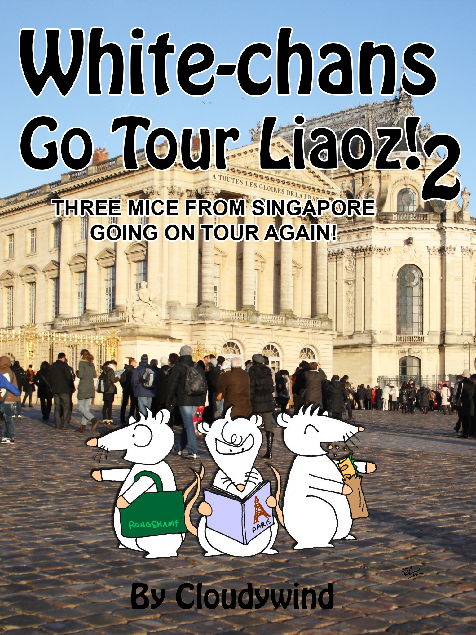White-chans go tour liaoz! 2