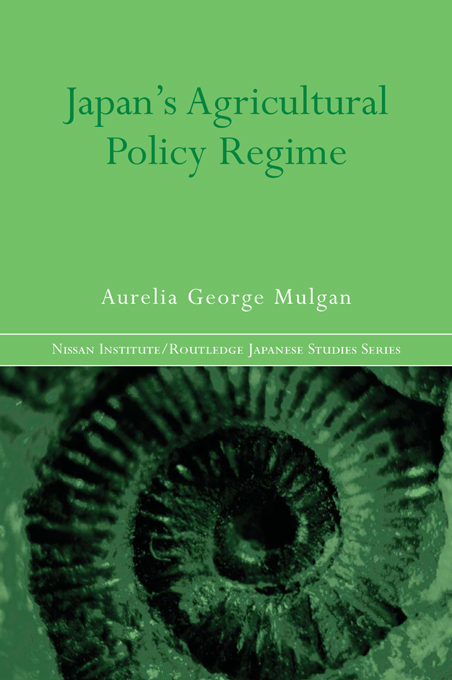 Japan's Agricultural Policy Regime