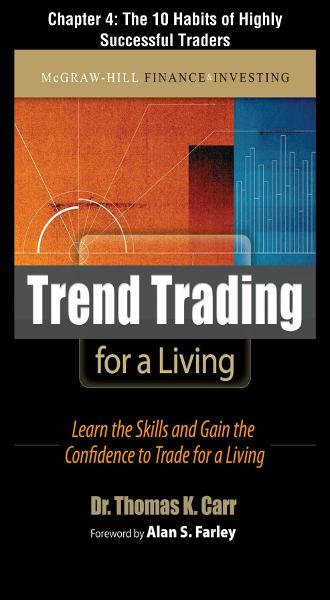 Trend Trading for a Living, Chapter 4 - The 10 Habits of Highly Successful Traders By: Thomas K. Carr
