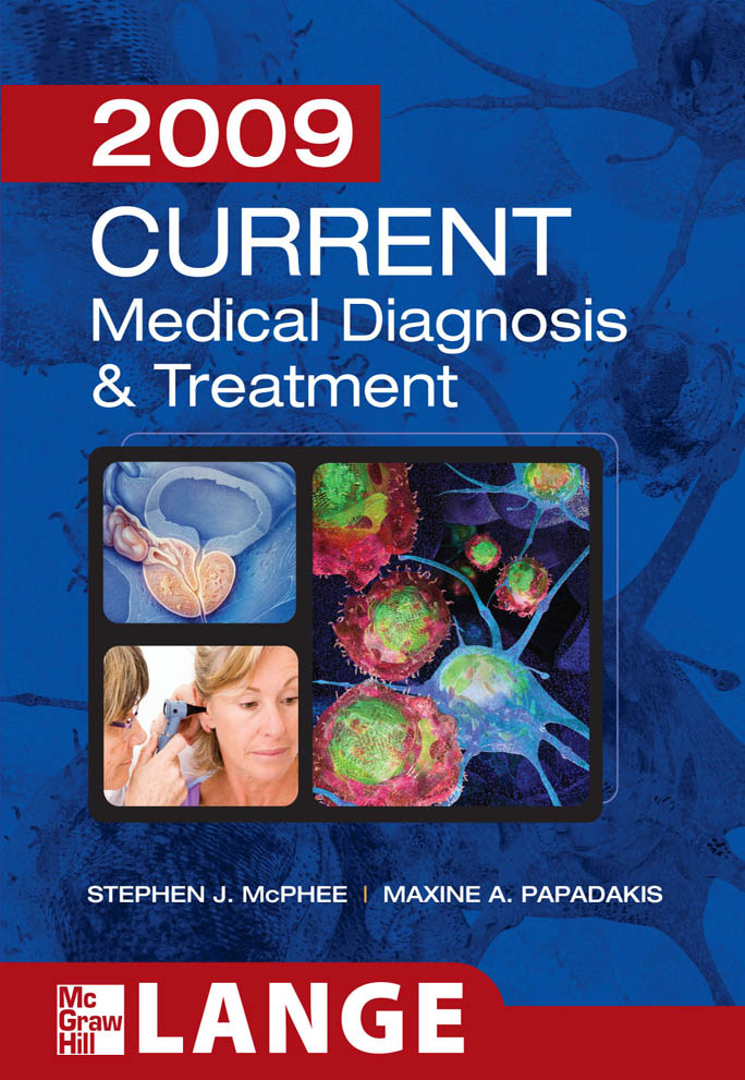 CURRENT Medical Diagnosis and Treatment 2009