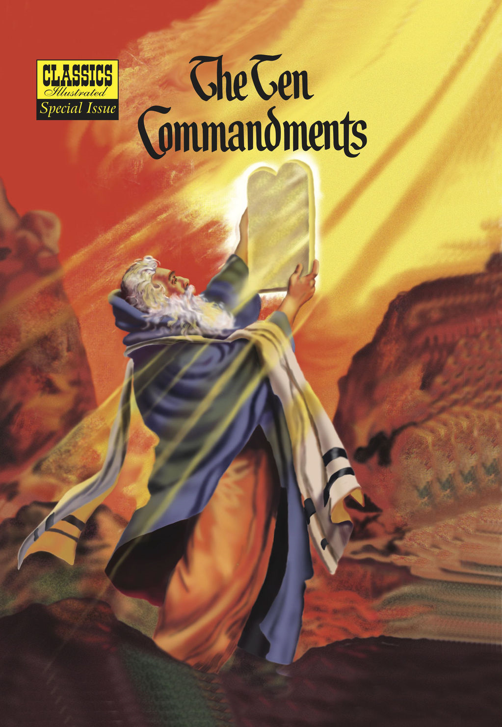 The Ten Commandments - Classics Illustrated Special Issue #135A By: Lorenz Graham