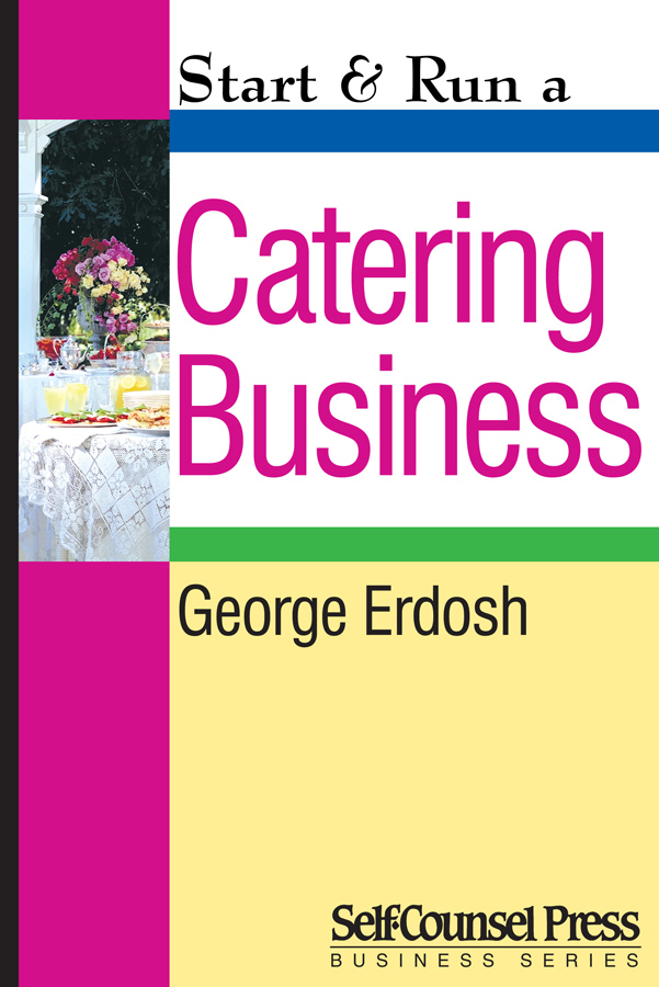 Start & Run a Catering Business