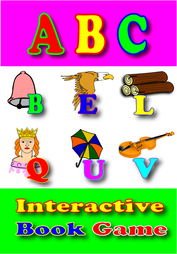 ABC Books for Children  An Interactive book game