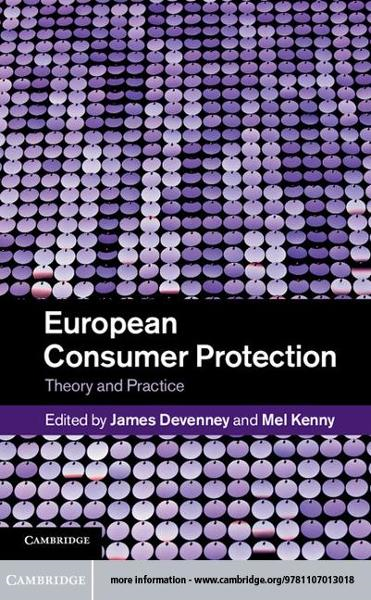 European Consumer Protection By: Devenney, James