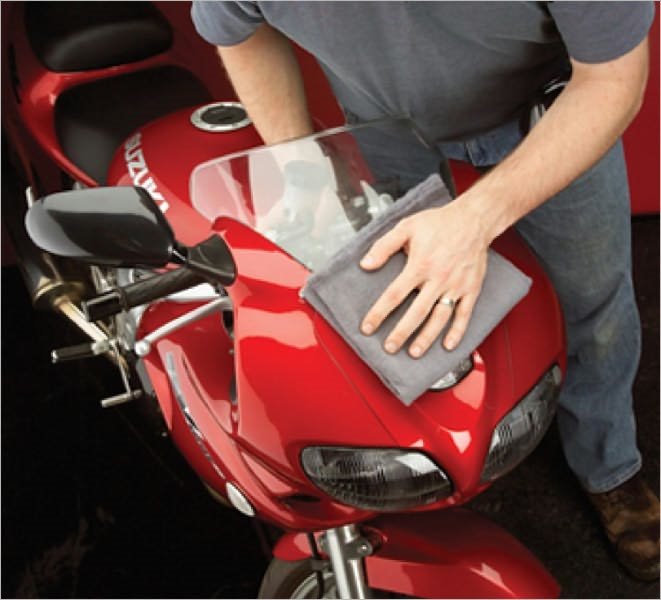 Cleaning a Motorcycle For Beginners