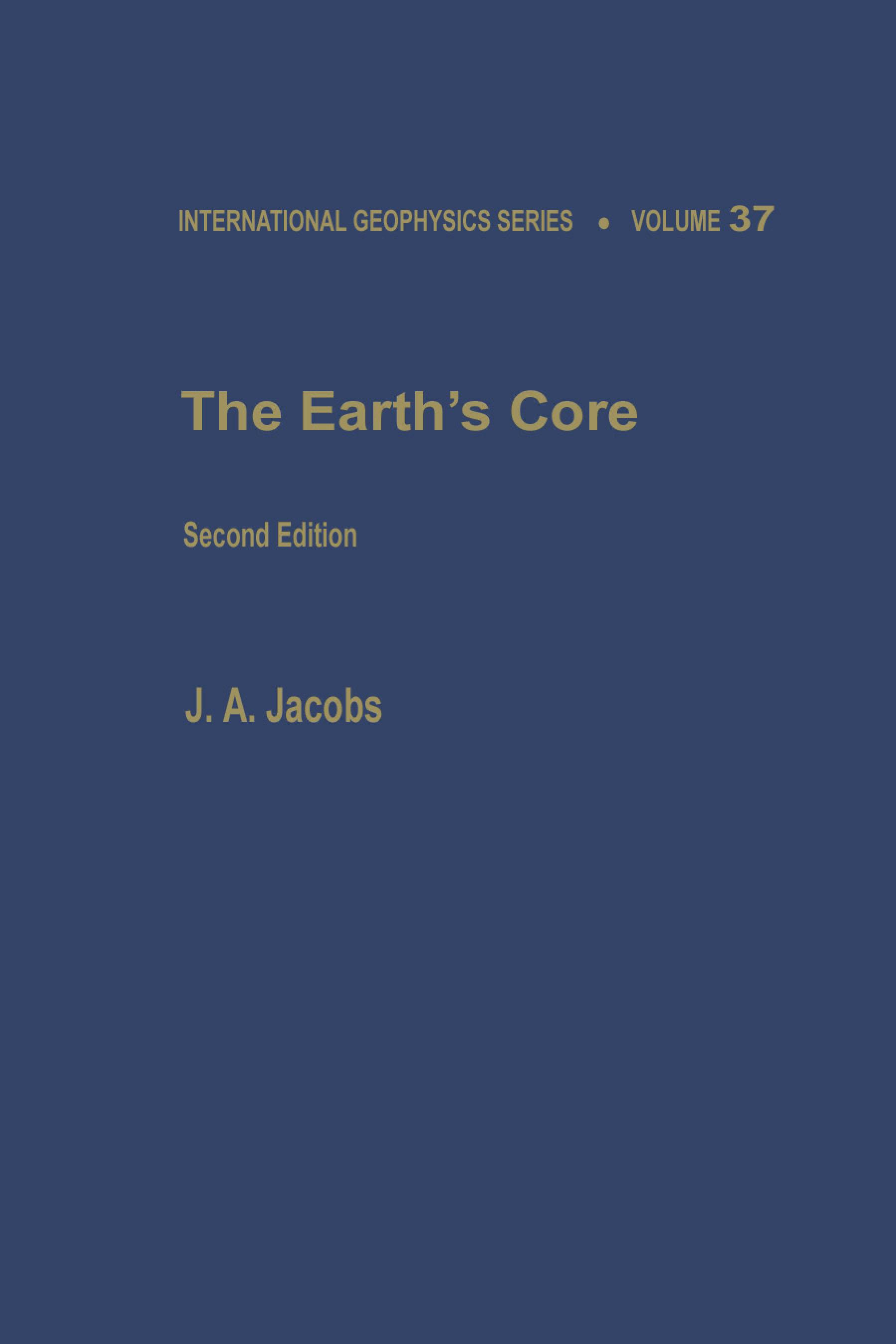 The Earth's Core