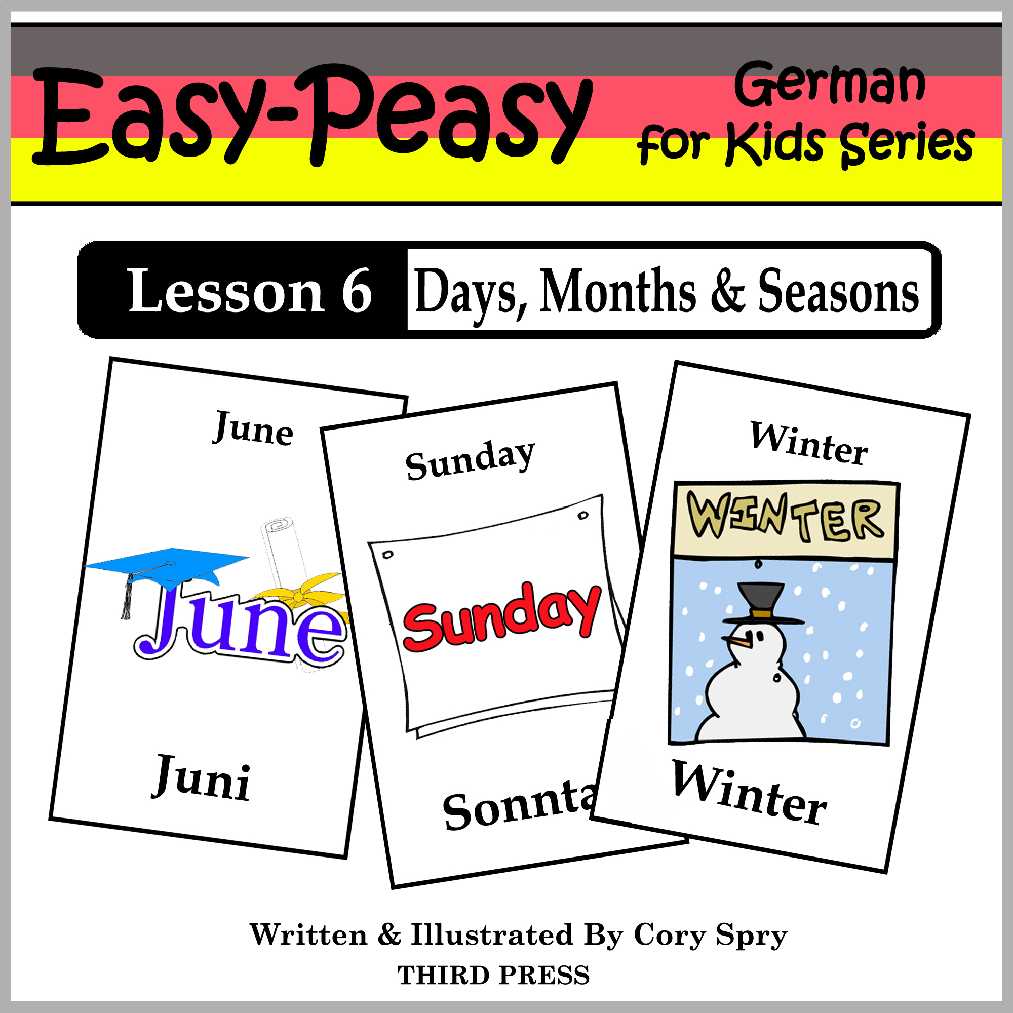 German Lesson 6: Months, Days & Seasons