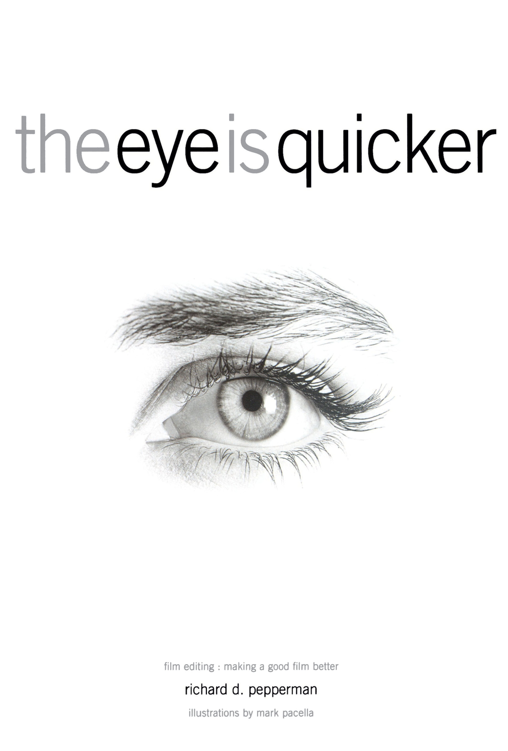 The Eye is Quicker By: Richard D Pepperman