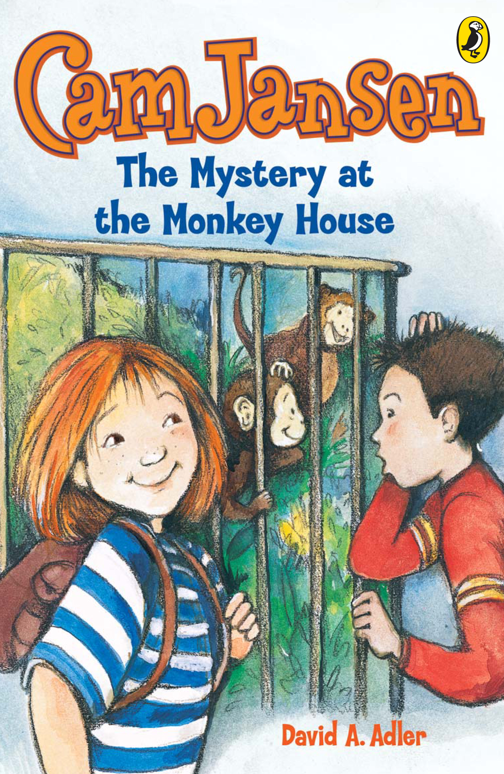 Cam Jansen: The Mystery of the Monkey House #10