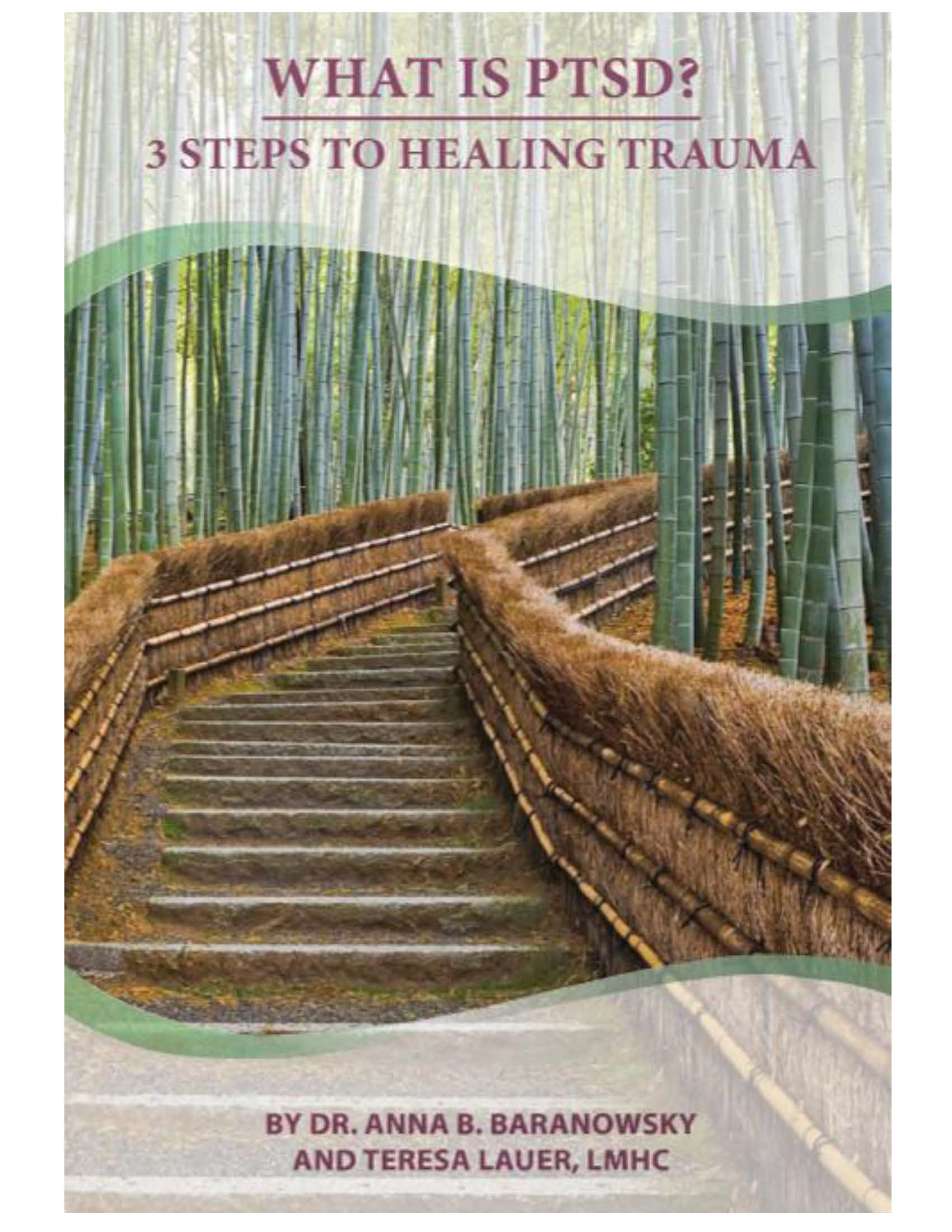 What is PTSD? 3 Steps to Healing Trauma By: Dr. Anna Baranowsky,Teresa Lauer