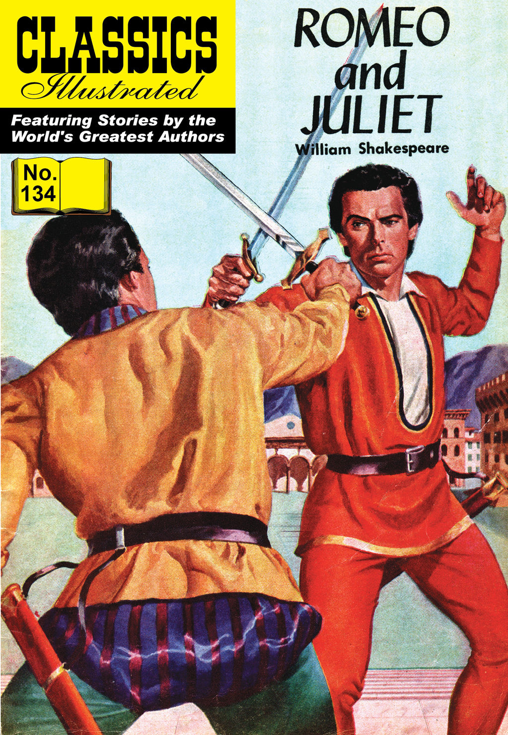 Romeo and Juliet - Classics Illustrated #134
