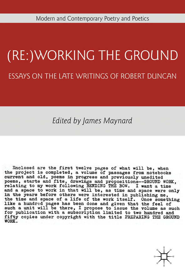 (Re:)Working the Ground By: