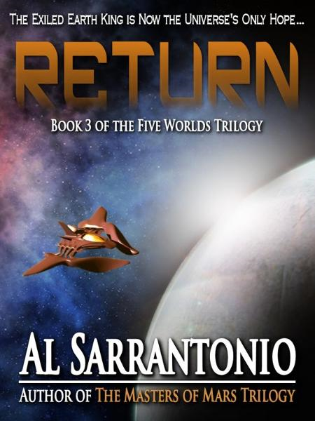 Return: Book III in the Five Worlds Trilogy