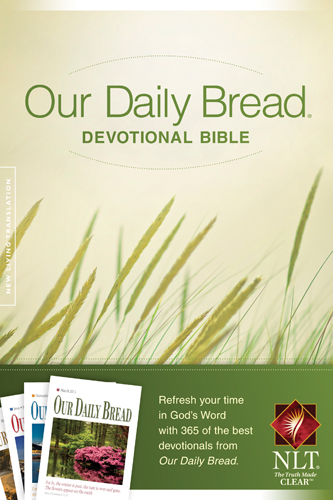 Our Daily Bread Devotional Bible NLT By: RBC Ministries,Tyndale