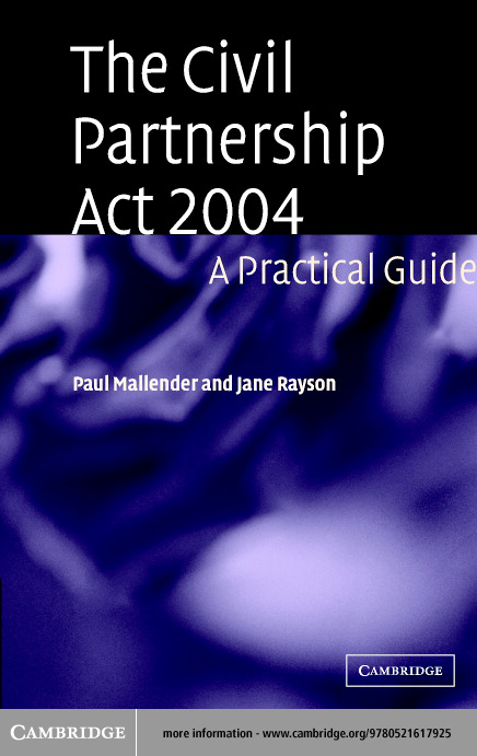 The Civil Partnership Act 2004