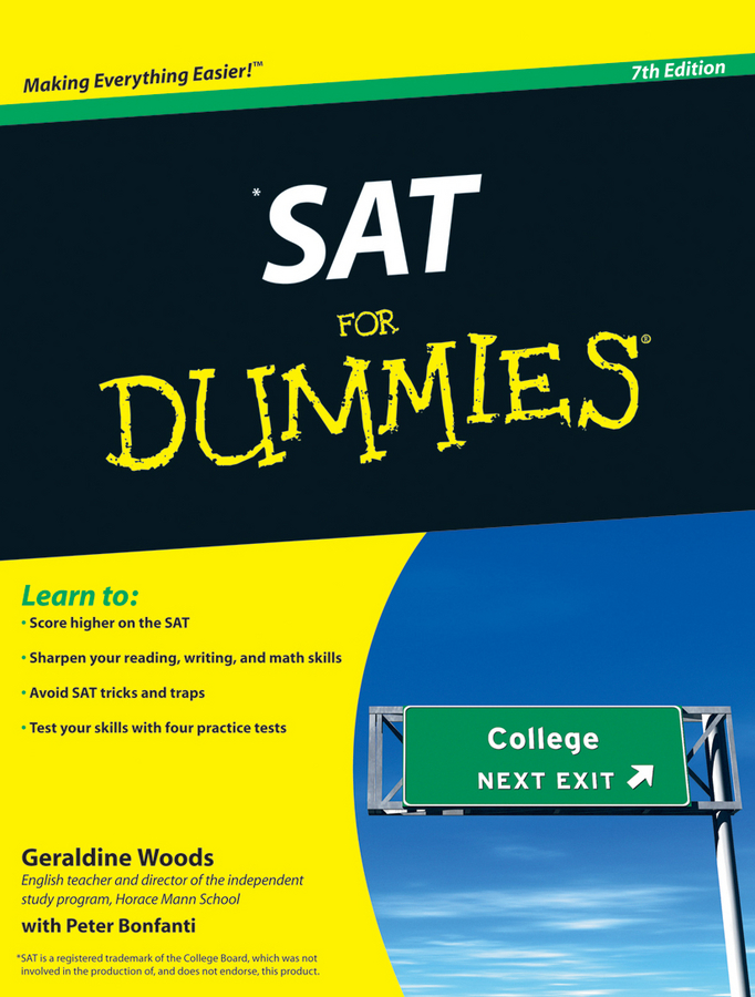SAT For Dummies By: Geraldine Woods