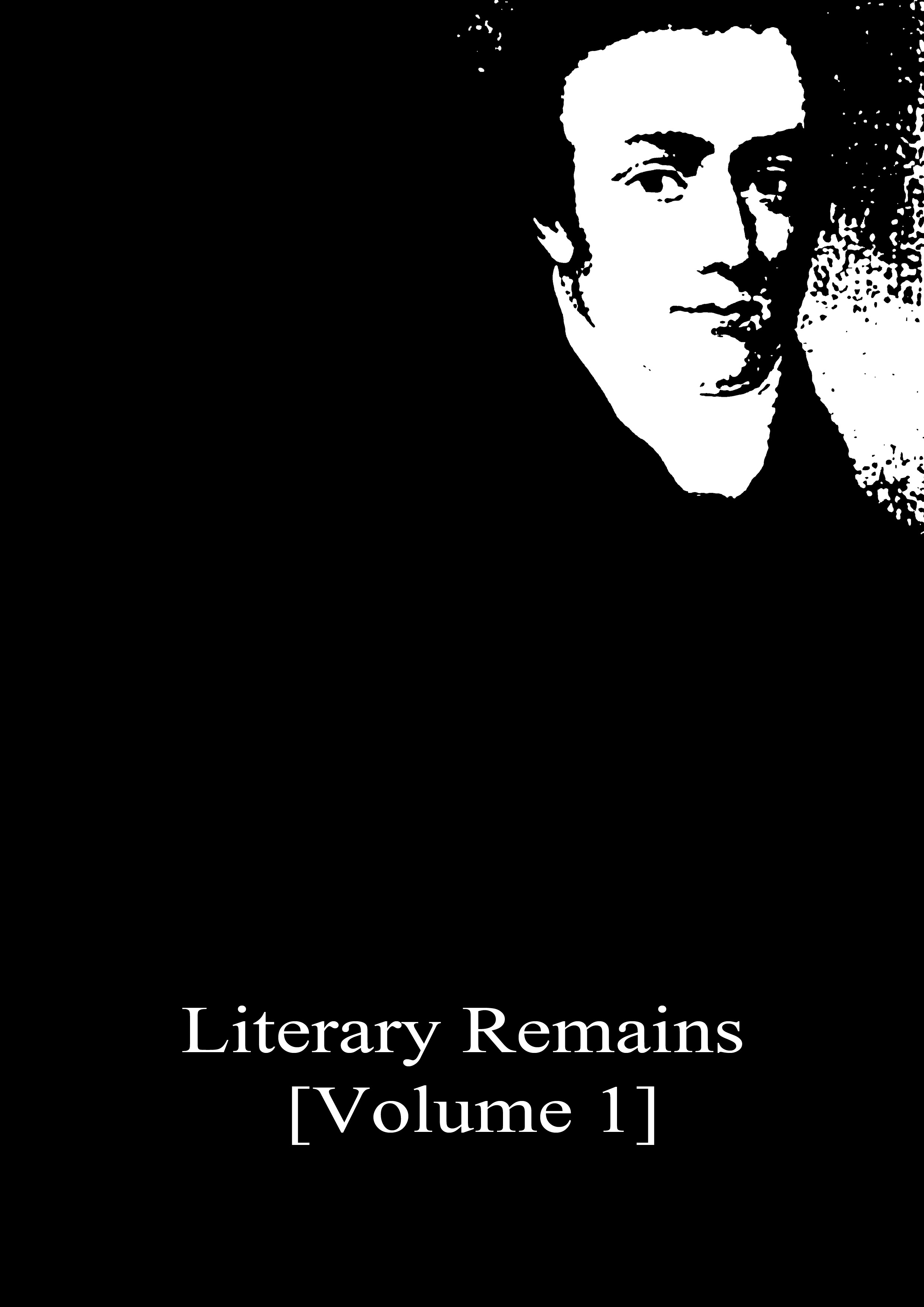 Literary Remains By: Samuel Taylor Coleridge