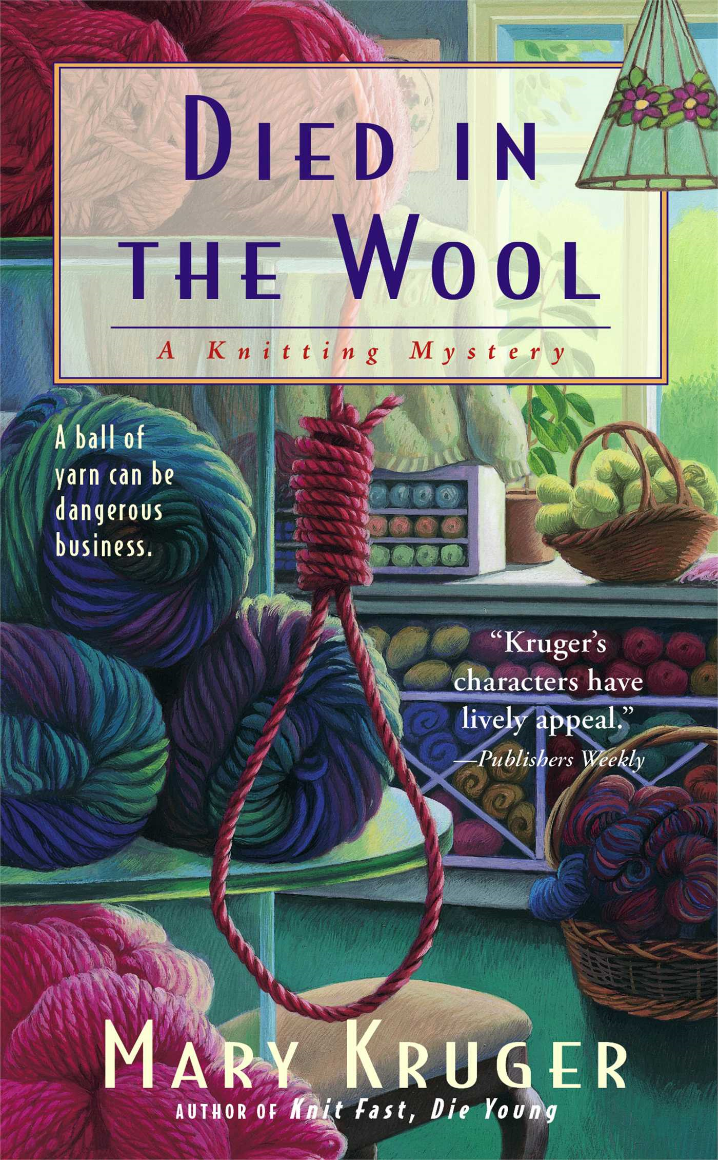 Died in the Wool A Knitting Mystery
