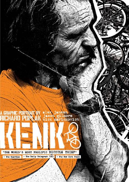 KENK: A Graphic Portrait By: Alex Jansen (Concept, Producer), Richard Poplak (Writer), Jason Gilmore (Filmmaker, Designer), Nick Marinkovich (Illustrator), Pop Sandbox (Publisher)