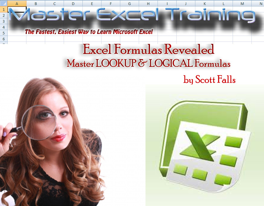Excel Master Training - Master LOOKUP & LOGICAL Formulas in Excel - Vlookup (Master Excel Training)
