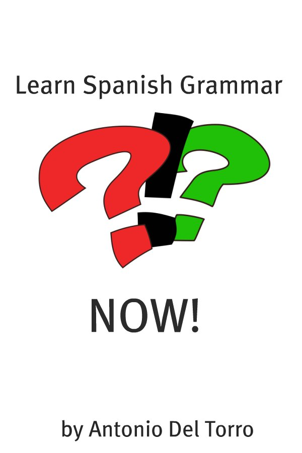 Learn Spanish Grammar NOW! By: Antonio Del Torro