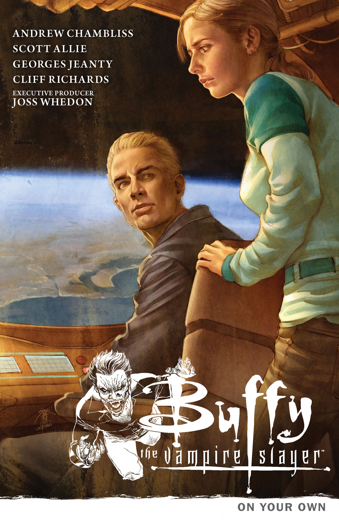 Buffy the Vampire Slayer Season 9 Volume 2: On Your Own By: Andrew Chambliss,Cliff Richards,Georges Jeanty